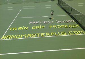 Handmaster Plus grip strength exercise tennis