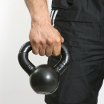 Kettlebell requires clenched grip